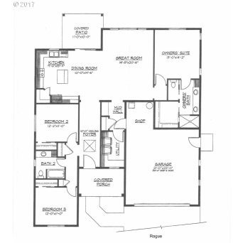 The Rogue Floor Plan