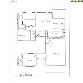 The Siuslaw Floor Plan